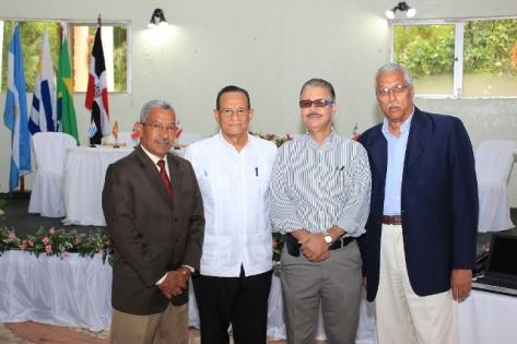 Ricardo García, Gabriel Del Río, Luis José Chávez y Luis Simó