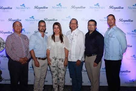 Manuel Quiterio Cedeño, Jonathan Iriarte, Erenia González, Ernesto Veloz, Mauricio Zarate y Juan Carlos Peralta